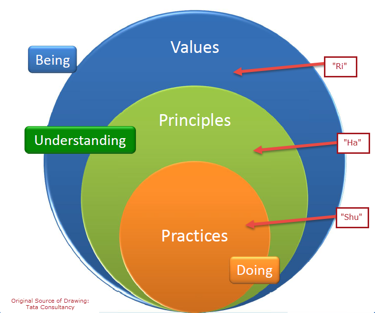 Levels of Mastery in Agile